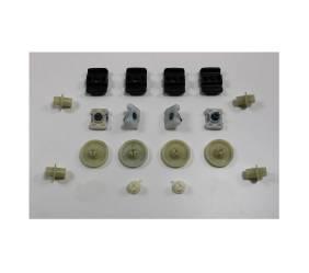 Dmps 3482 280086 Mopar 1970 1972 E Body Door Hardware Kit