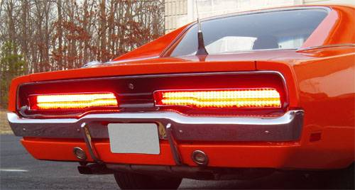 Dmps 1200269 Mopar 1969 1970 Dodge Charger Led Tail Light Kit
