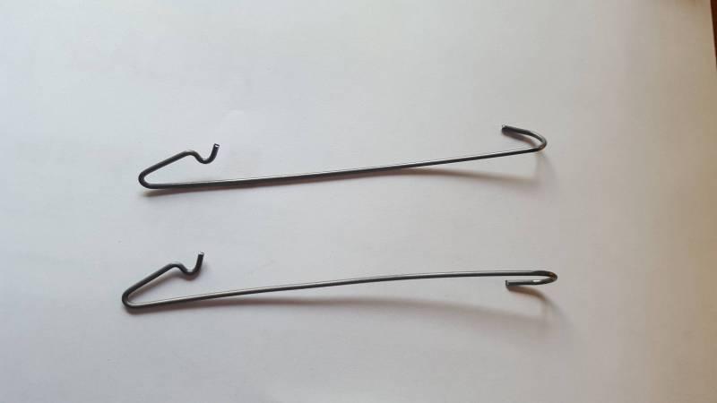 dmps 7821 mopar headliner bow retainer 1970 1974 e body. Black Bedroom Furniture Sets. Home Design Ideas