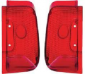 Dante's Mopar Parts - Mopar Lenses Tail Light Lens 1967 Plymouth Barracuda