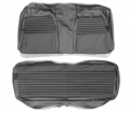 Dante's Mopar Parts - Mopar Seat Covers 1972 Dodge Charger Deluxe Style Rear Bench Seat Cover