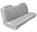 Dante's Mopar Parts - Mopar Seat Covers 1973 Dodge Charger Front Split Bench