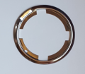 Dante's Mopar Parts - Mopar Flip Top Gas Cap Trim Ring Bezel-1970-1974 Dodge Challenger