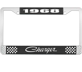 Dante's Mopar Parts - License Plate Frame-1968 Dodge Charger - Image 1
