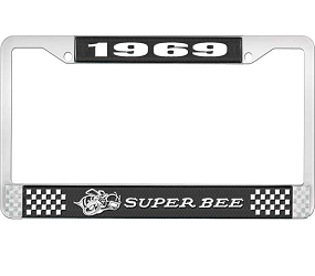 Dante's Mopar Parts - License Plate Frame-1969 Dodge Super Bee - Image 1