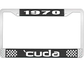 Dante's Mopar Parts - License Plate Frame-1970 Plymouth Cuda - Image 1