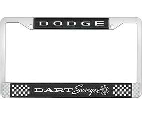 Dante's Mopar Parts - License Plate Frame- Dodge Swinger - Image 1