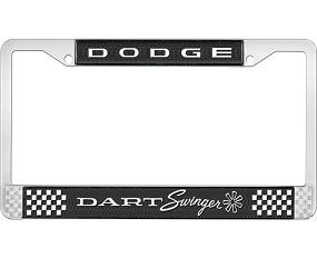 Dante's Mopar Parts - License Plate Frame- Dodge Swinger