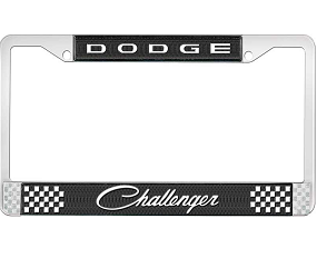 Dante's Mopar Parts - License Plate Frame- Dodge Challenger - Image 1