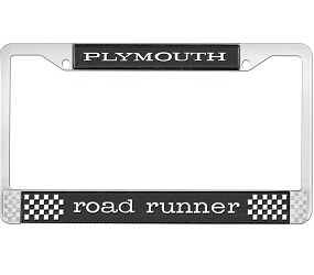 Dante's Mopar Parts - License Plate Frame- Plymouth Road Runner - Image 1