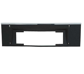 Dante's Mopar Parts - Mopar B-body Rally Dash AM/8 Track Radio Bezel- 1969 Dodge Charger, Coronet - Image 1