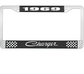 Dante's Mopar Parts - License Plate Frame-1969 Dodge Charger - Image 1