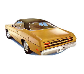 Dante's Mopar Parts - Mopar Vinyl Top Full Top 1970-1976 Duster,1973-1976 Dart Sport, 1971-1972 Demon - Image 1