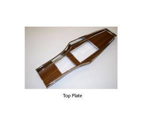 Dante's Mopar Parts - Mopar Console Top Plates and Doors Top Plate 1969-1976 A-body