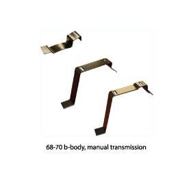Dante's Mopar Parts - Mopar Body Console Brackets - Image 1