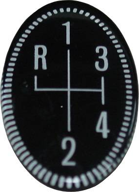 Dante's Mopar Parts - Mopar Four Speed Pistol Grip Lens - Image 1