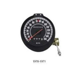 Dante's Mopar Parts - 70/71 E-Body Cuda Challenger Rallye 150MPH Speedometer Gauge