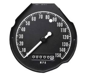 Dante's Mopar Parts - Mopar 1968-1970 B-Body Rallye Speedometer Gauge