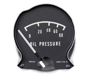 Dante's Mopar Parts - Mopar 1968-1970 B-Body Rallye Oil Pressure Gauge