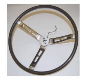 Dante's Mopar Parts - Mopar Deluxe Steering Wheel Woodgrain 1968-1970 A and B-body Wood Sport Wheel - Image 1