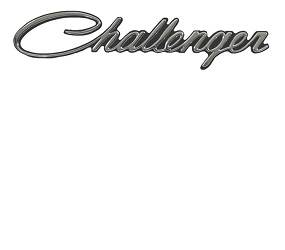 Dante's Mopar Parts - Mopar 1970-1974 Dodge *Challenger* Fender Emblem