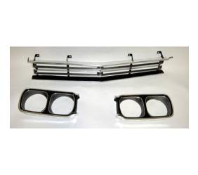 Dante's Mopar Parts - Mopar Front Grille and Headlight Bezels-1969 Plymouth Road Runner - Image 1