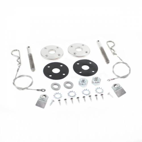 Dante's Mopar Parts - Hood Pin Kits-1970-1976 Duster, 1971-1976 Scamp