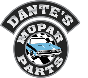 Dante's Mopar Parts - Mopar Body Hood Pin Kits 1969 1/2 A12 Road Runner & Super Bee Lift Off Hood