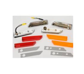 Dante's Mopar Parts - Mopar 1970-1971 E-body 1970-71 Challenger Side Markers Set with Bezels - Image 1