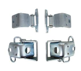 Dante's Mopar Parts - Mopar Door Hinges Complete Set 66-70 B-body