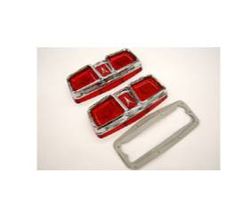 Dante's Mopar Parts - Mopar Lenses Tail Light Lens B-Body 1964 Plymouth Fury - Image 1