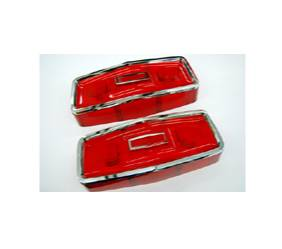 Dante's Mopar Parts - Mopar Lenses Tail Light Lens B-Body 1964 Plymouth Savoy Belvedere