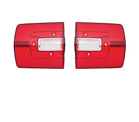 Dante's Mopar Parts - Mopar Lenses Tail Light Lenses -1968 Plymouth Road Runner GTX