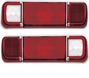 Dante's Mopar Parts - Mopar Tail Light Lenses 1970 Dodge Dart, 1971-72 Plymouth Scamp - Image 1