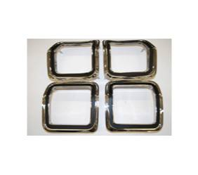 Dante's Mopar Parts - Mopar Tail Light Bezels 1973-1974 Dodge Dart Sport