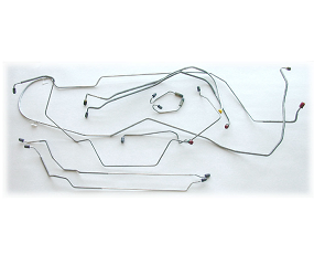 Dante's Mopar Parts - Mopar Brake Lines Sets 1973 A-Body Full Brake Line Sets - Image 1