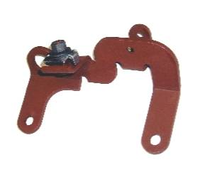 Dante's Mopar Parts - Mopar Throtte Cable Bracket 1971 383 Four-Barrel Throttle Cable Mounting Bracket