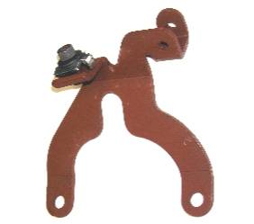 Dante's Mopar Parts - Mopar Throtte Cable Bracket 1972-73 340 Four-Barrel and 1974 360 Four-Barrel Throttle Cable Mounting Bracket - Image 1