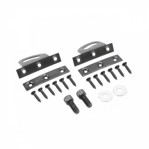 Dante's Mopar Parts - 1970 Style Rear Spoiler Pedestal Attachment Bracket Kit - Image 1