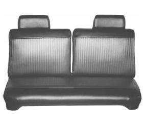 Legendary Auto Interiors - Mopar Seat Covers 1969 Dodge Dart Swinger, Swinger 340 & Plymouth Valiant 100 Front Split Bench