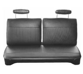 Legendary Auto Interiors - Mopar Seat Covers 1970 Plymouth Duster A-body Front Split Bench 3/5 Rib Insert - Image 1