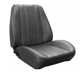 Legendary Auto Interiors - Mopar Seat Covers Kit 1968 Barracuda Rallye Seat Standard Style A-body Front Buckets - Image 1