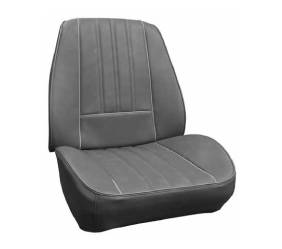 Legendary Auto Interiors - Mopar Seat Covers Kit 1968 Barracuda Rallye Seat Deluxe Style A-body Front Buckets - Image 1