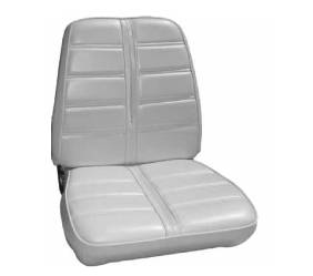 Legendary Auto Interiors - Mopar Seat Covers 1969 Barracuda OEM style Deluxe Style A-body Front Buckets - Image 1