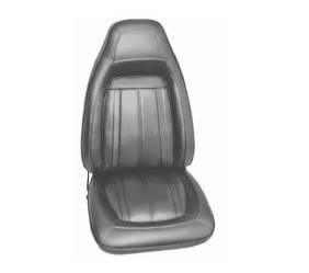 Dante's Mopar Parts - Mopar Seat Covers 1970 Barracuda Gran Coupe E-body Front Buckets - Image 1