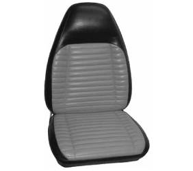 Dante's Mopar Parts - Mopar Seat Cover 1971 Satellite Sebring Plus, Roadrunner & GTX B-body Front Buckets
