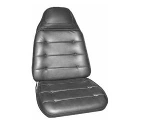 Dante's Mopar Parts - Mopar Seat Cover 1973 Satellite Sebring Plus & Roadrunner B-body Front Buckets