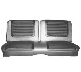 Dante's Mopar Parts - Mopar Seat Cover 1965 Belvedere II B-body Front Split Bench 2 Door Hardtop