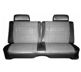 Dante's Mopar Parts - Mopar Seat Covers 1969 Satellite & Roadrunner * Decor*Front Split Bench Seat Cover