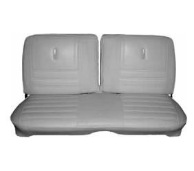 Dante's Mopar Parts - Mopar Seat Cover 1972 Satellite Sebring & Roadrunner Deluxe Style Front Split Bench - Image 1